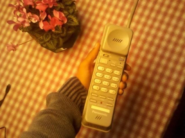 teléfono inálambrico de antes