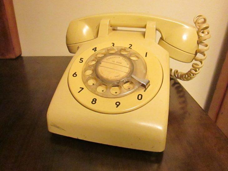 telefono de disco