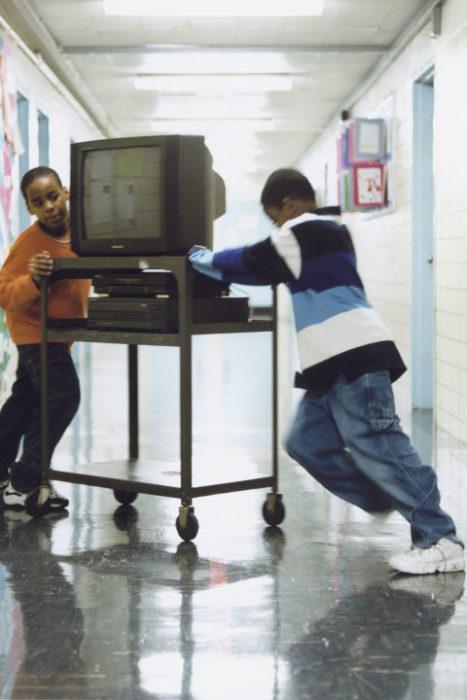 televisión escuela