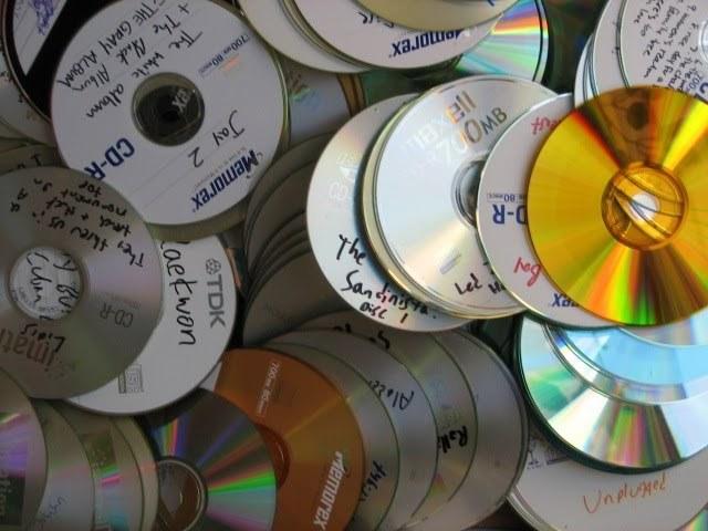 cds quemados 90's