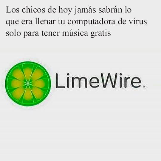 limewire 90's