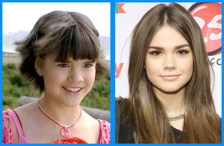 Maia Mitchell antes y después