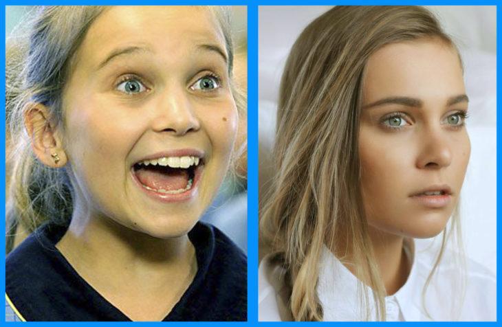 Marny Kennedy antes y después