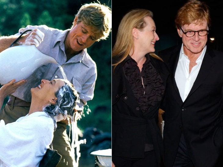 Meryl Streep y Robert Redford