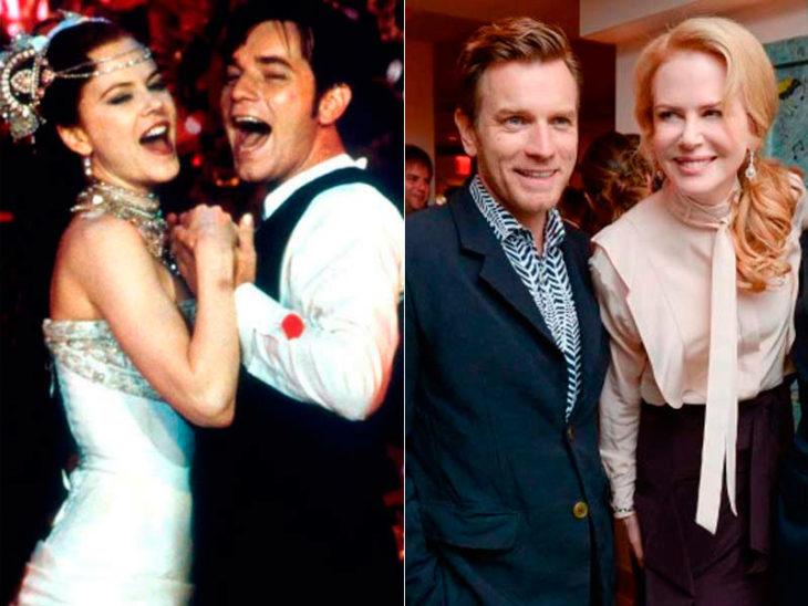 Nicole Kidman y Ewan McGregor
