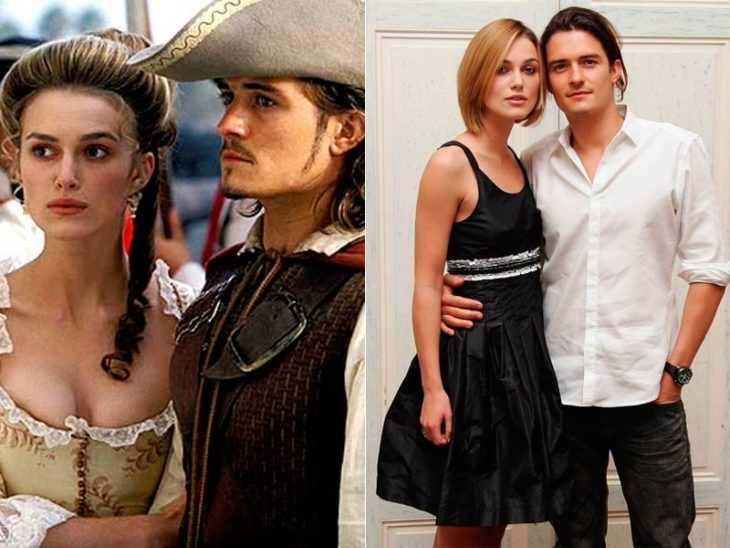 Orlando Bloom y Keira Knihtley