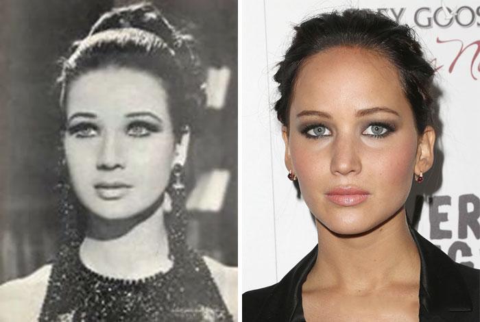 actrices parecido