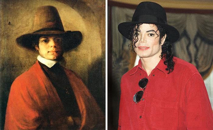 michael jackson se parece a un cuadro antiguo