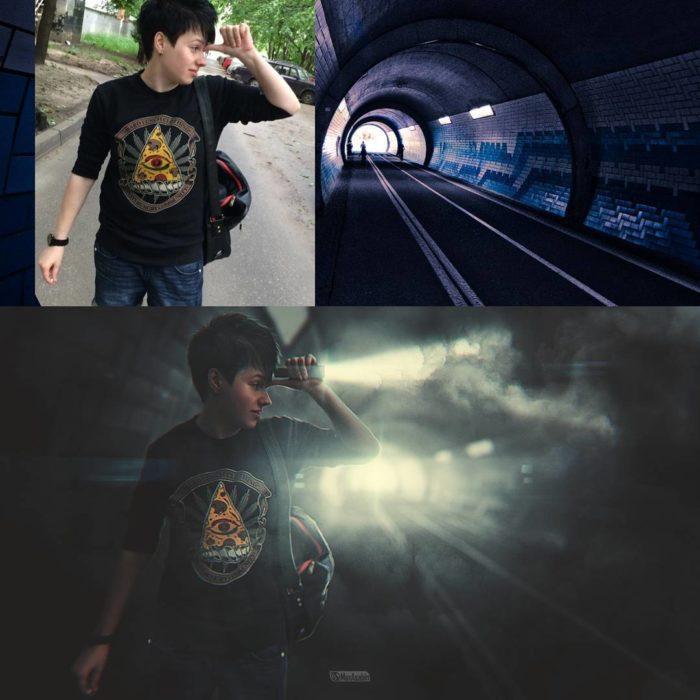 una luz en el tunel