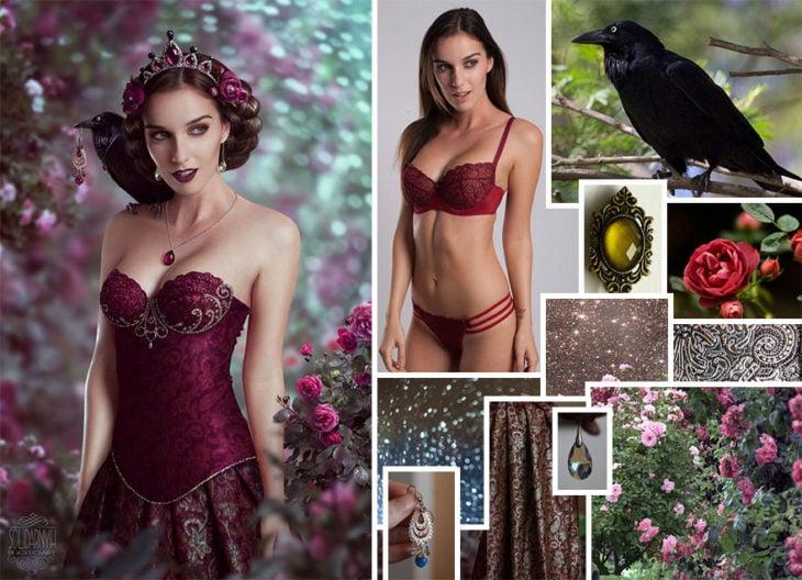 Photoshop qué hay detrás de imágenes mujer cuervo
