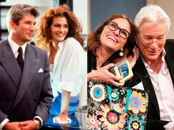Richard Gere y Julia Roberts