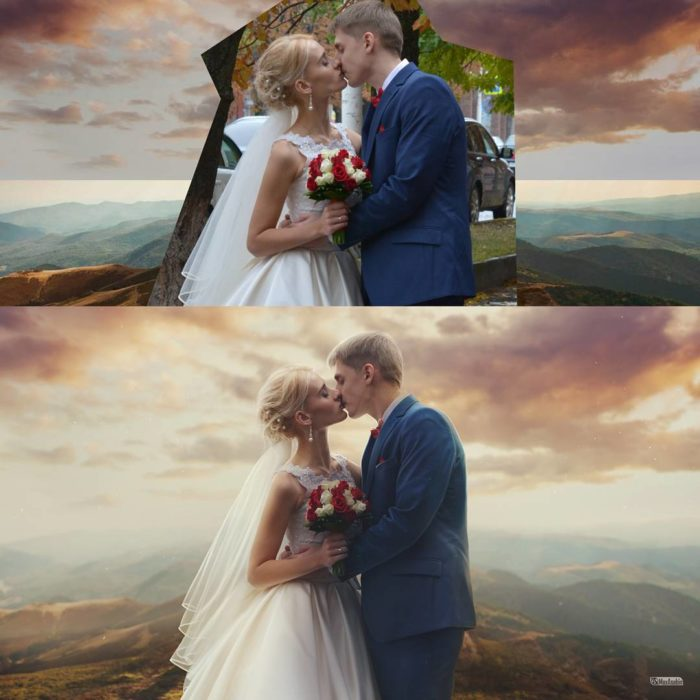 Artista ruso PS - foto de boda