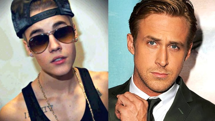Ryan Gosling y Justin Bieber