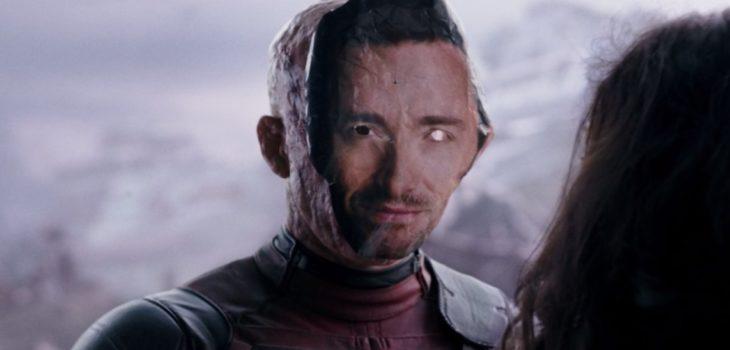 cameo deadpool máscara de hugh jackman