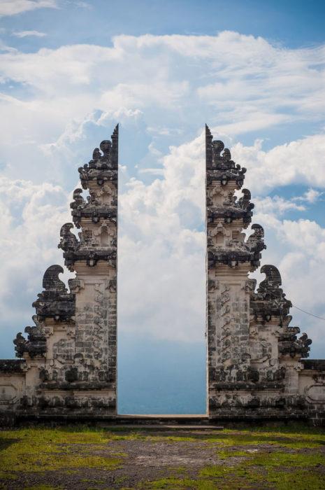 Puertas de templo
