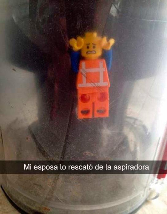 Snapchats divertidos - lo rescató