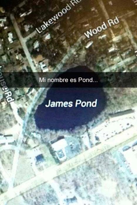 Snapchats divertidos - mi nombre es pond
