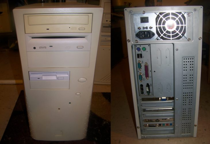 cpu computadora 1999
