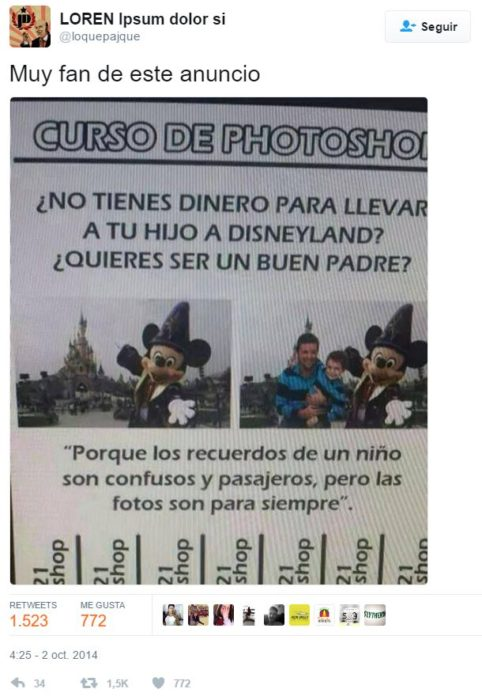 tuits padres -curso de photoshop