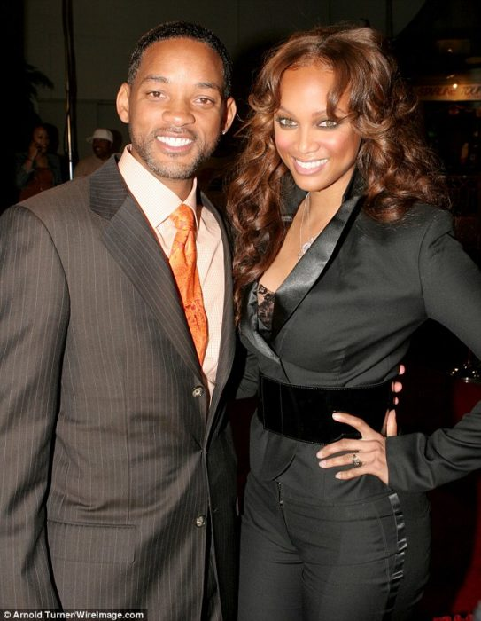 Will Smith y Tyra Banks