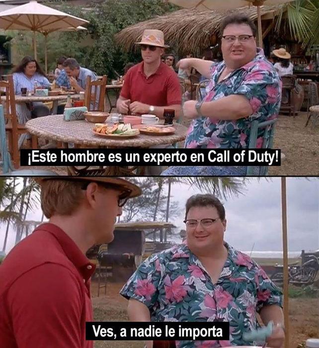 memem sobre a nadie le importa call of duty