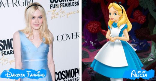 Cover Celebridades que lucen iguales a personajes de Disney
