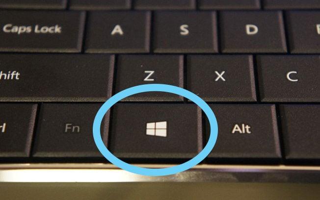 Teclado Windows botón de inicio
