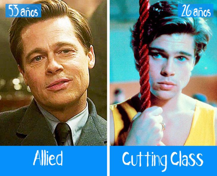 Brad Pitt en su primer y último papel