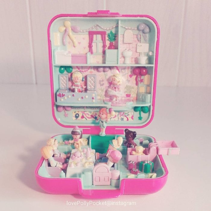 caja de polly pocket