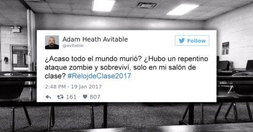 Cover Nadie asistió a su clase, lo tuiteó y se hizo viral