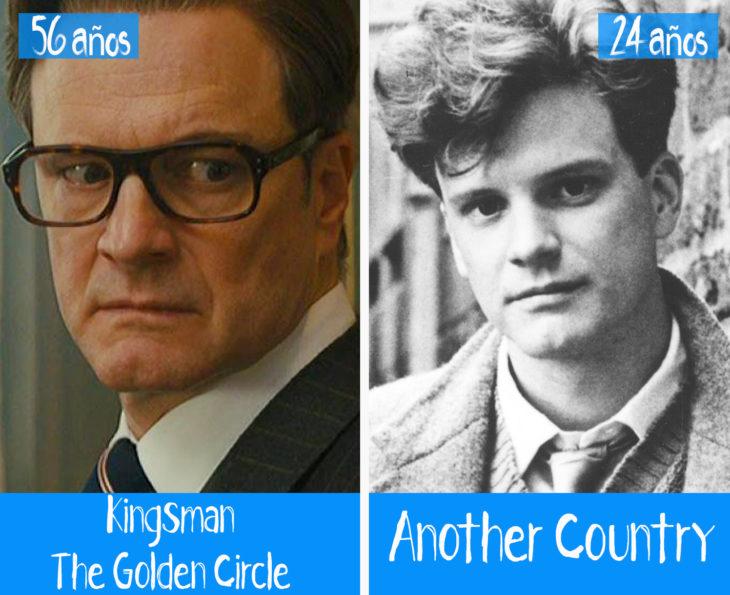 Colin Firth en su primer y último papel