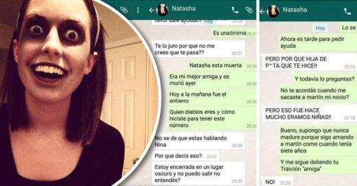 Cover Extraña y terrorífica conversación de amigas por Whatsapp