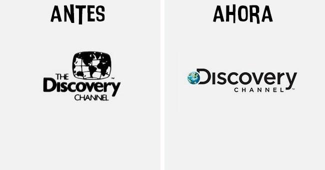 discovery Cómo han cambiado los logotipos más famosos antes y después
