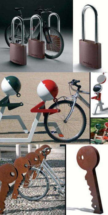 anclaje bicicletas