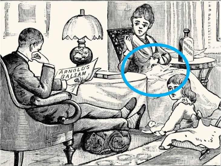 segundo gato ilustración regazo madre