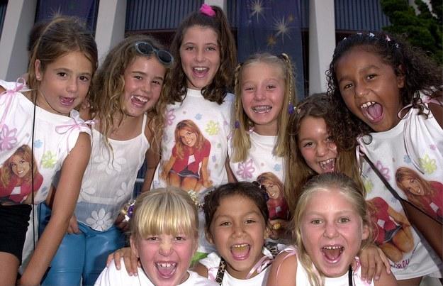 Britney Spears fans 2000 niñas camisetas