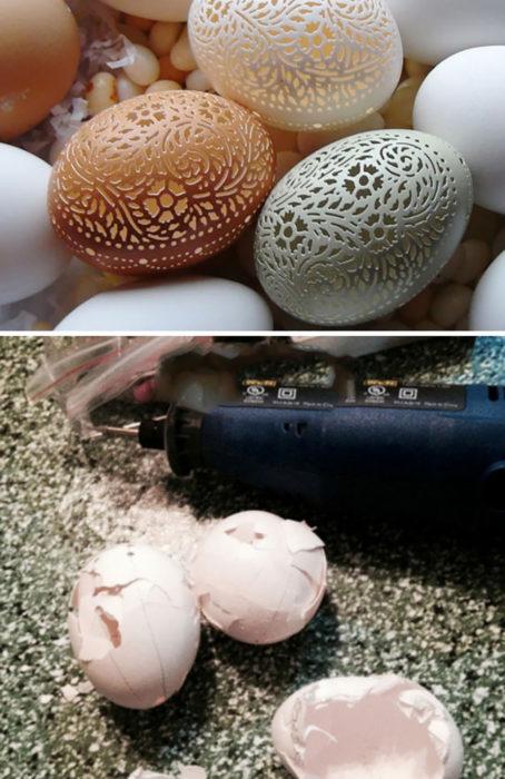 arte en huevos expectativa vs realidad
