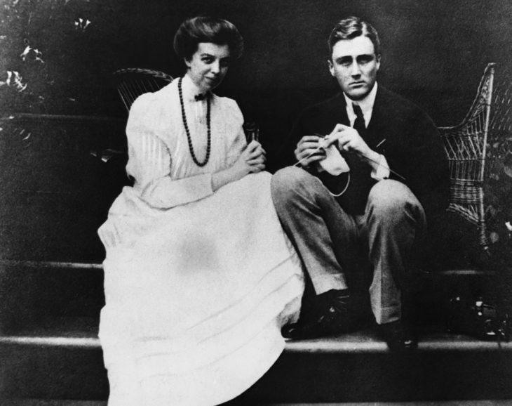 FDR y Eleanor Roosevelt