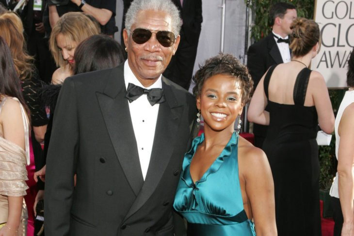 Morgan Freeman y E'Dena Hines