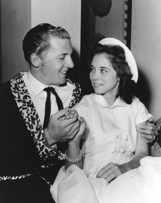 Jerry Lee Lewis y Myra Gale Brown