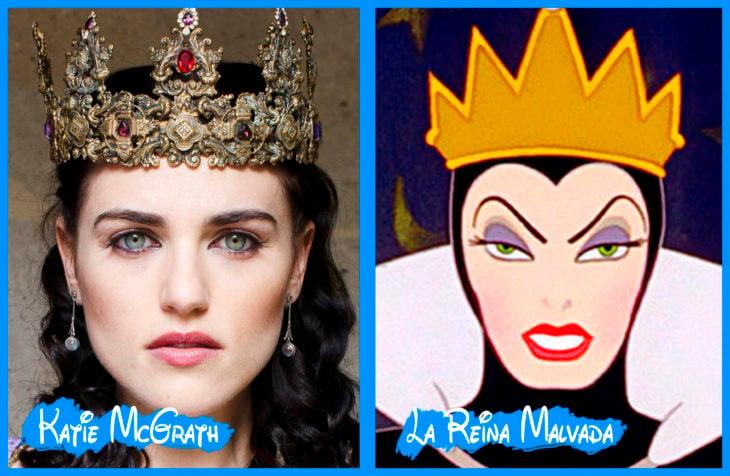 katie mcgrant y la reina malvada