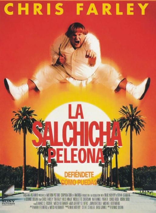 póster de la película la salchicha pelona