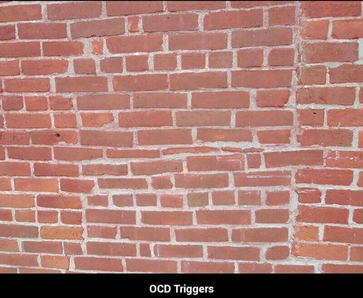 pared de ladrillos mal acomodados