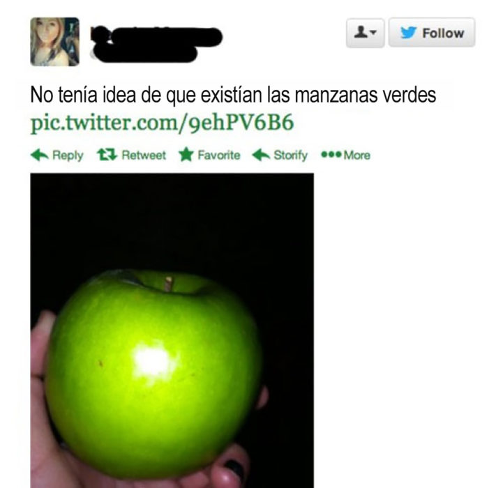 manzana verde