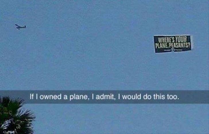 y su avión campesinos?