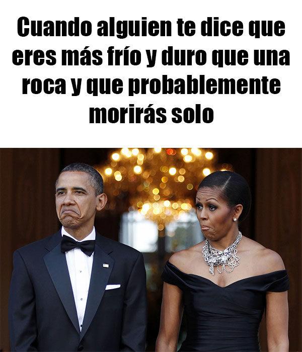 obama y michel gesto meme