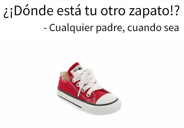 zapato converse niño rojo