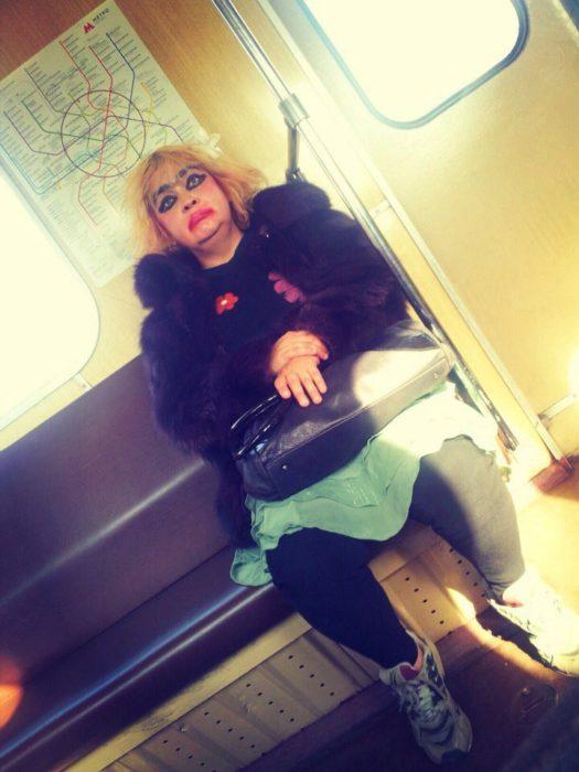 metro rusia señora