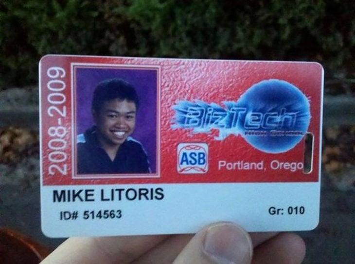 identificación de persona llamada mike litories