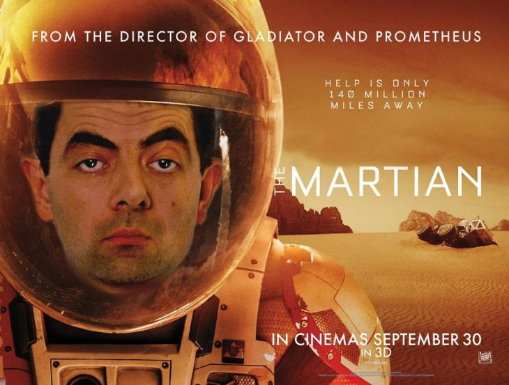 martian mr bean mr bean guerra de photoshop